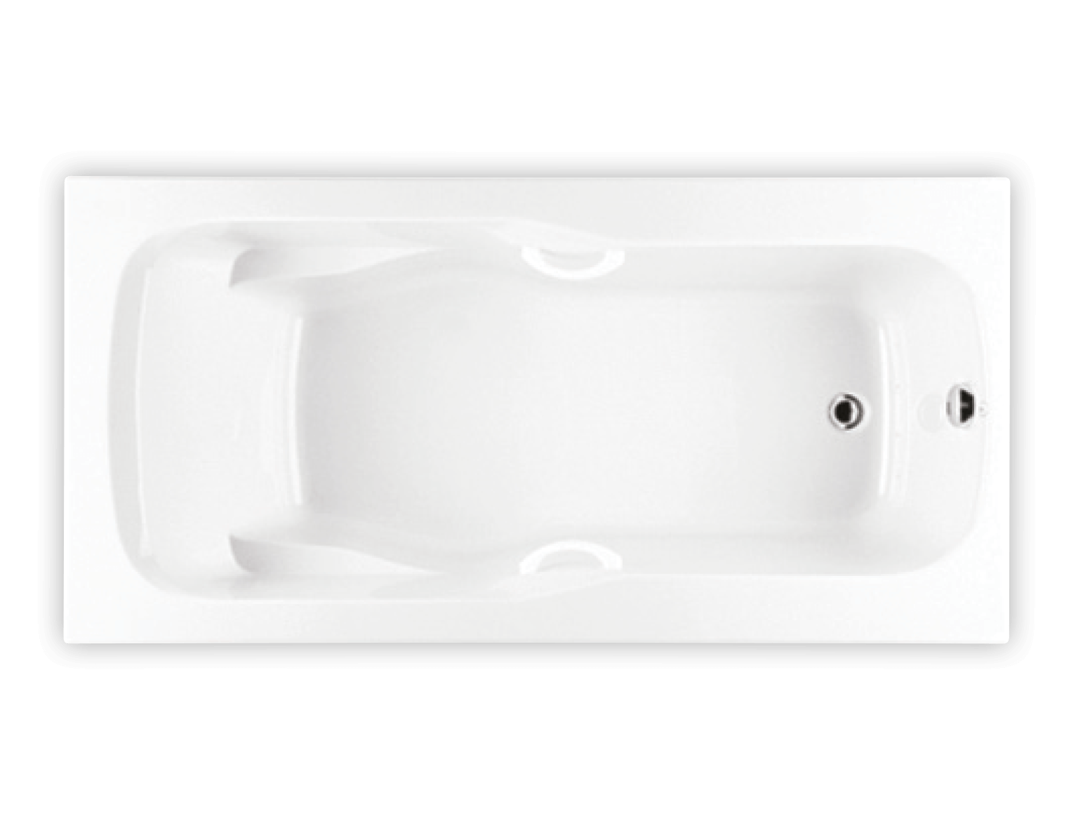 Bainultra Thalassa 55 alcove drop-in air jet bathtub for your modern bathroom